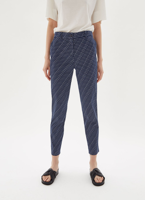 TROUSERS WITH JACQUARD LOGO