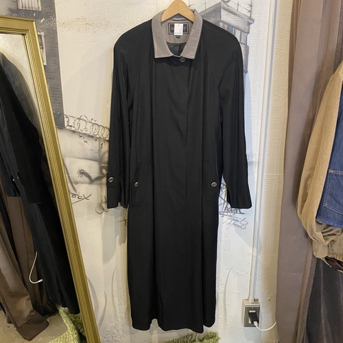 polyester rayon long coat