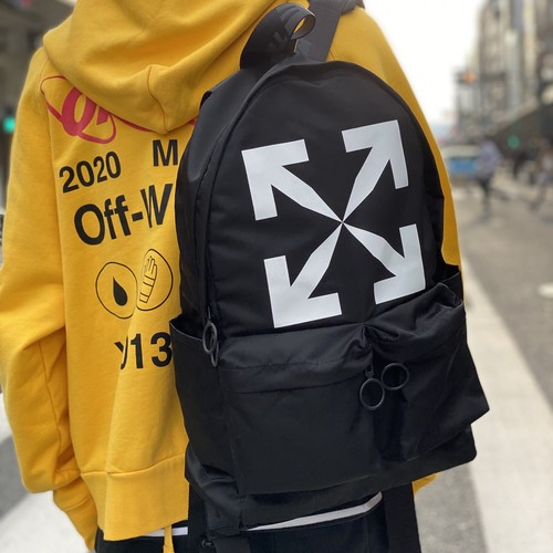 OFF-WHITE OFF ARROW LOGO BACKPACK