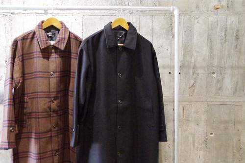 Big silhouette soutien collar coat