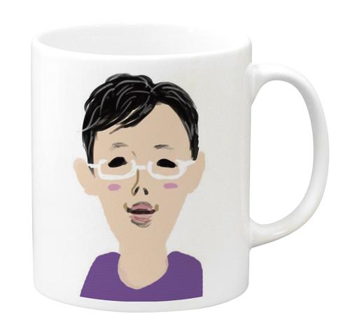 とむoさんマグカップ