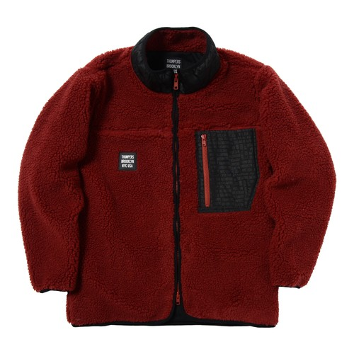 BORE JACKET(WINE)[TH8A-062]