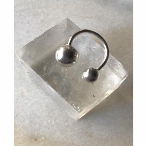 nikke   Obe ring silver
