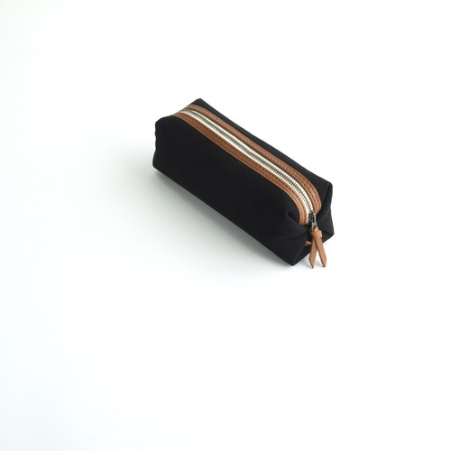 CANVAS PEN CASE S / BLACK