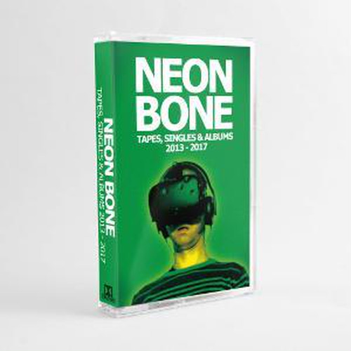 neon bone / tapes, singles and albums 2013-2017 cassette