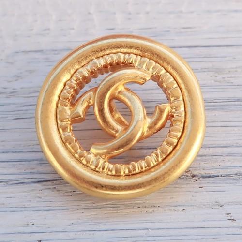 774 CHANEL VINTAGE (シャネル ヴィンテージ)COCOマーク デザイン ボタン ゴールド