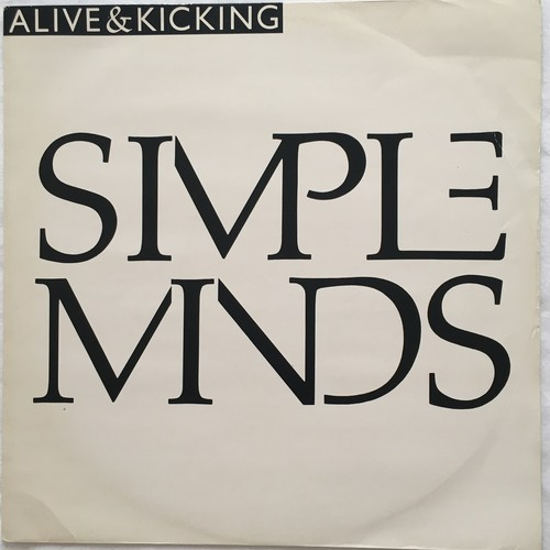 【12inch・英盤】Simple Minds / Alive & Kicking