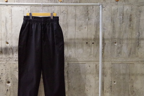 Remake twill wide tapered easypants