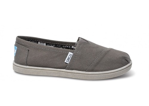 Canvas Youth TOMS Classics  ( Ash  ) トムス キッズ