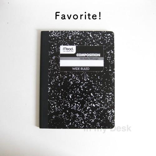 ミード・マーブルノート 【mead】1subject composition book