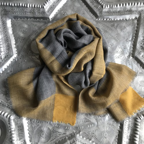 3colors Wool Stole/MT