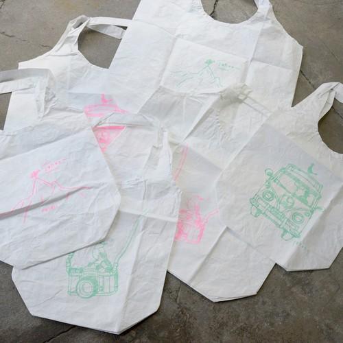 【mt.souvenir】新色登場!タイベックマルシェバッグLサイズ TOKYO(ミントグリーン)&ネオンピンク