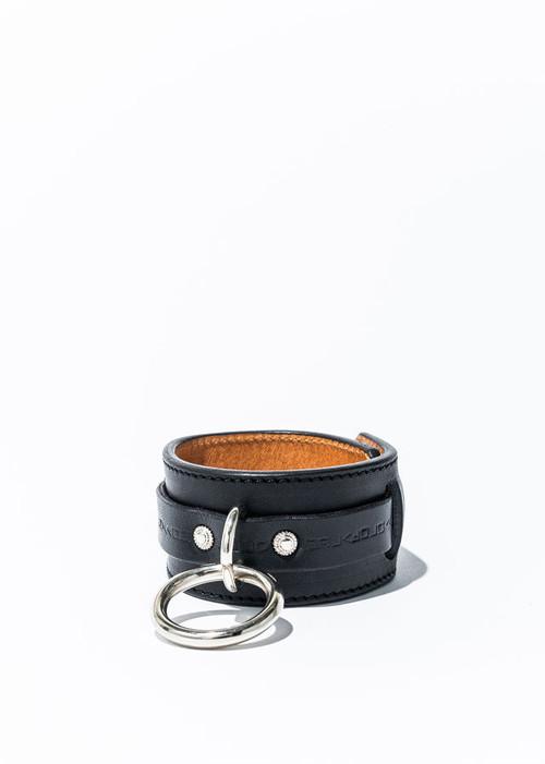 nahezu≒gleich / SID bracelet black/silver
