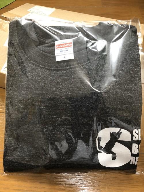 ロゴTシャツ 新色ヘザーブラック