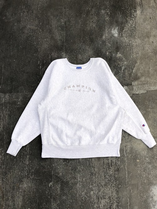 USED / 90's champion logo embroidery reverseweave