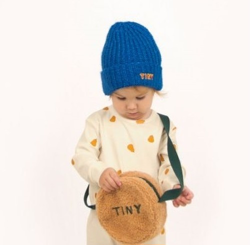 """TINYCOTTONS タイニーコットンズ """"TINY"""" BEANIE color:blue size:baby-one size (41-43cm)"""