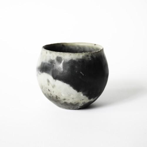 炭化焼締鉢 ※small