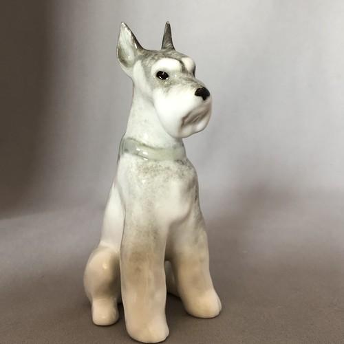 新品 Imperial Porcelain ミニチュアシュナウザー 犬     IP085