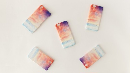 iPhone/Galaxy/Xperia Case「赤い、空」