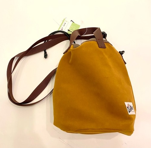 Drawstring Pouch Brown(English Toast)