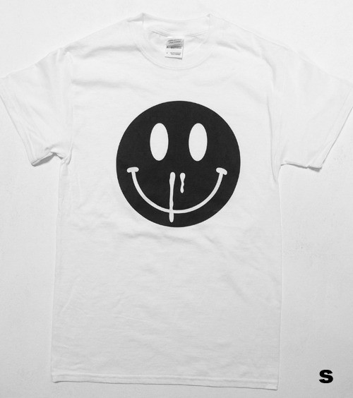 HAPPINESS OVERDOSE BLACKENED TEE