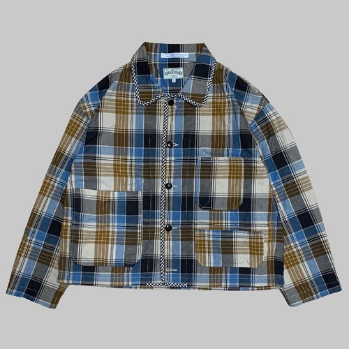【ONLINE LIMITED EDITION】CC COTTON COVERALL-PLANE CHECK