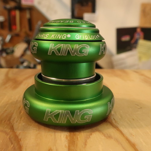 ChrisKing NoThreadSet Tapered 1.5 / Matte Emerald