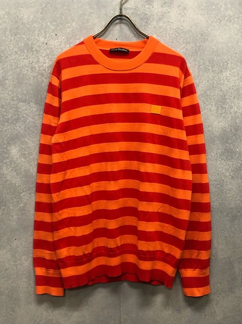 Acne Studios - Border Knit Long Tee (size - L) ¥22000+tax