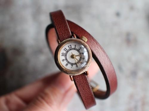 シンプル二重巻時計