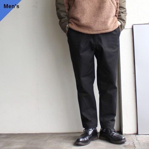 【再入荷】weac.  POPEYE PANTS サージ ブラック