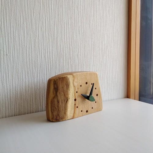 置時計 栗