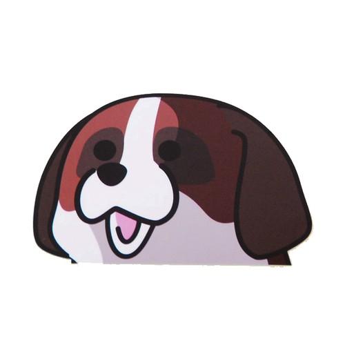 セントバーナード(小)     犬ステッカー