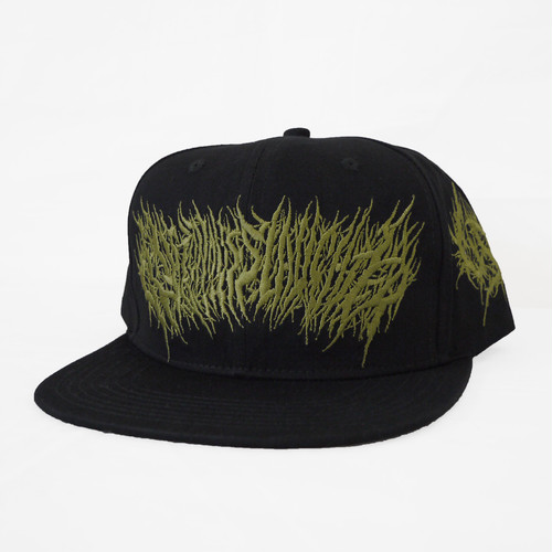 Gluttonous Slaughter Snapback Black x Olive green