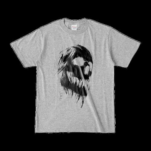 SKULL オリジナルデザインTシャツ グレー