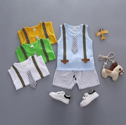 キッズお洒落BOY Tシャツ+パンツセット