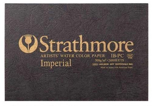 ストラスモア インペリアル水彩紙 ポストカード ブロック