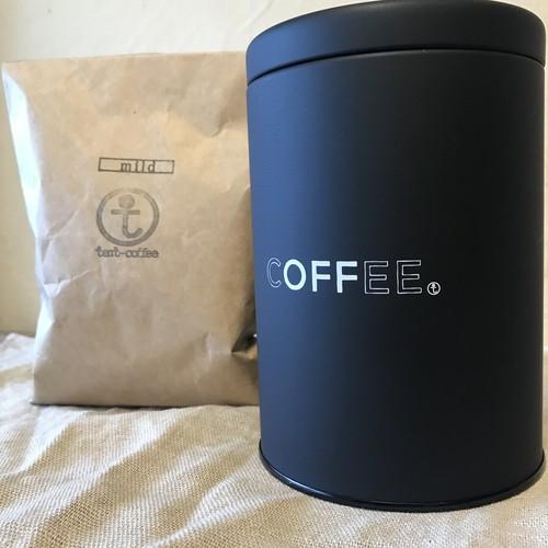 コーヒーキャニスター+コーヒー豆200g