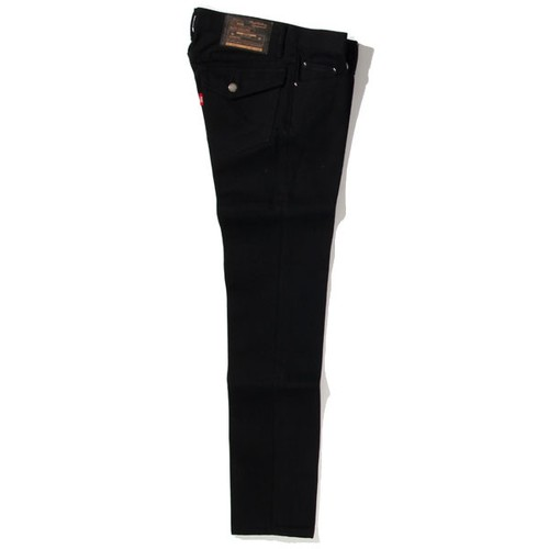 RIGID TYPE-1 DENIM PANTS<SLIM> (BLACK) / RUDE GALLERY