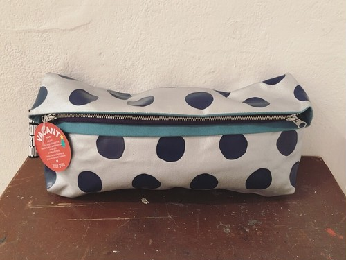 SALE★Painted-YOKONAGA Clutch_Dots