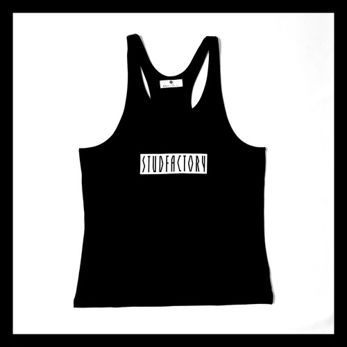 graphic logo tanktop(BLACK)