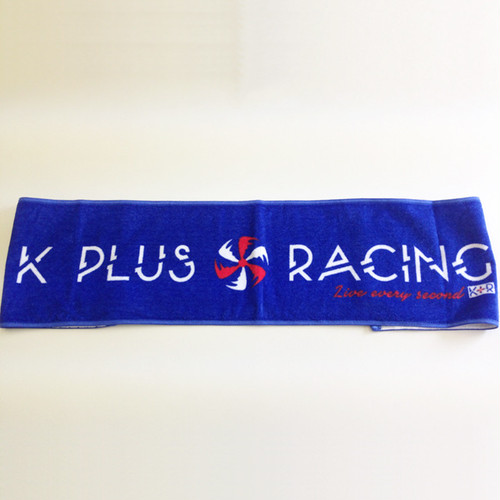 K PLUS RACING 2014 マフラータオル