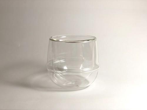 KINTO / KRONOS ダブルウォール ワイングラス 250ml *