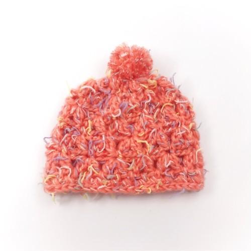 げんキッズのニット帽*オレンジ