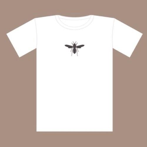 スズメバチ 白×スミ黒