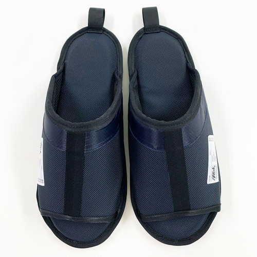 RESmivdiv/ROOM SHOES_ NAVY.