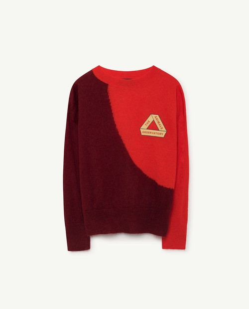 TAO(THE ANIMALS OBSERVATORY)Bicolor Bull Sweater RE