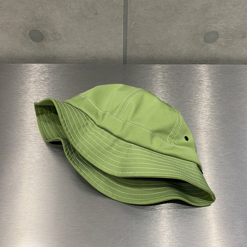 NOTHIN'SPECIAL ORGANIC COTTON 6-PANEL BELL HAT / LIME GREEN