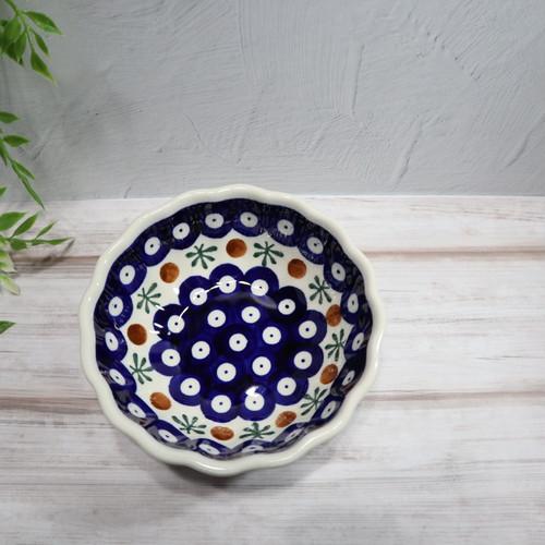 菊鉢 12センチ  ポーリッシュポタリー