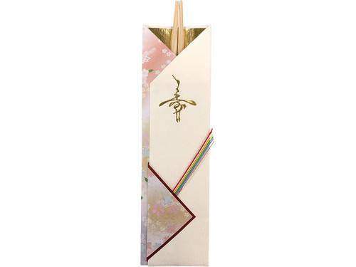国産スギの割り箸 「吉野杉祝箸 金寿鶴5膳」 ポストIN発送対応商品