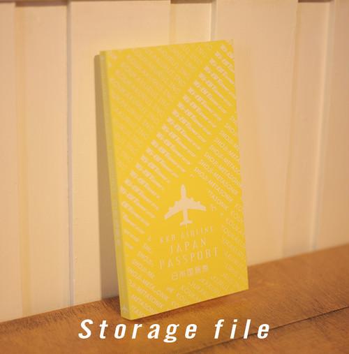 ポストカード&チケット収納ファイル